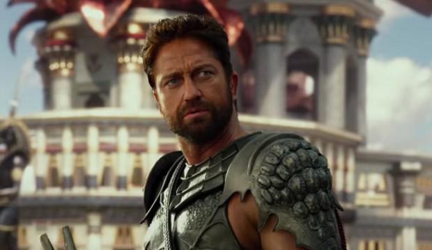 "Gerard Butler as Set in ""Gods of Egypt"""