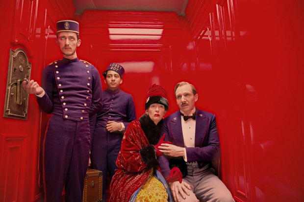 Movie still from 'The Grand Budapest Hotel'