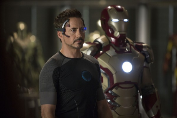 "Robert Downey, Jr. as Tony Stark in ""Iron Man 3"""