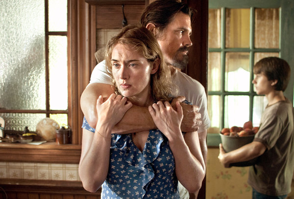 Screenshot of Labor Day featuring Kate Winslet and Josh Brolin