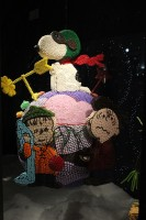 Linus, Snoopy and Charlie Brown candy ornament