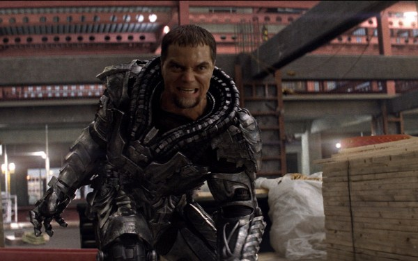 "Still from ""Man of Steel"" featuring Michael Shannon as General Zod."