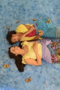 Malia Nixon and Erica Walters