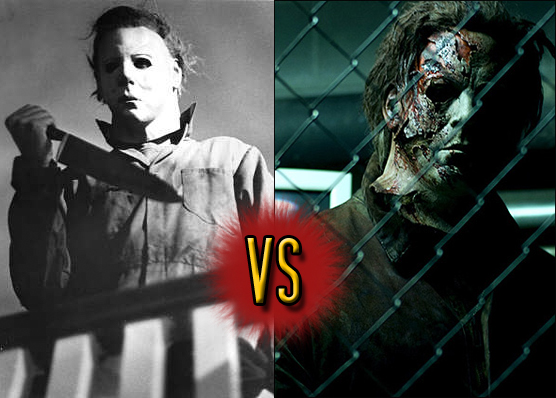 Michael Myers' face-off