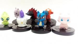 Pokemon Rumble U NFC Figures