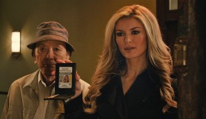 Still from 'R.I.P.D.' featuring James Hong, left, and Marisa Miller