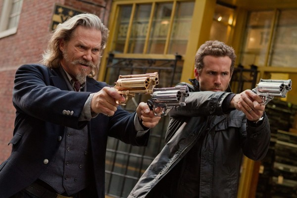 Still from 'R.I.P.D.' featuring Jeff Bridges, left, and Ryan Reynolds