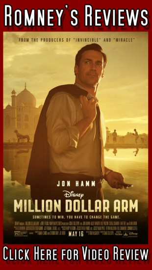 "Romney's Reviews: ""Million Dollar Arm"""