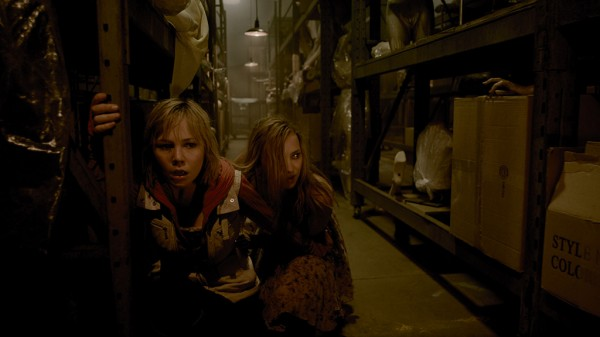 Adelaide Clemens, left, and Erin Pitt from 'Silent Hill Revelations 3D.'