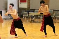 Bollywood dance rehearsal