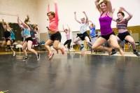 SLCC Dance Company practice