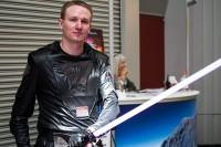 Justin Vandogen in costume