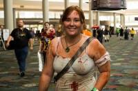Deandra Lanier dressed as Lara Croft