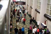 Large Comic Con crowd
