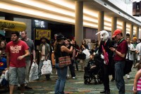 Crowded Comic Con floor