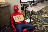Spider-Man will fight crime for food