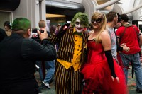 Photographing a couple of cosplayers at Salt Lake Comic Con