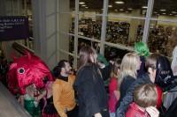 Large crowd for Salt Lake Comic Con 2013