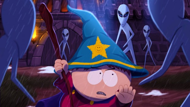 Cartman and Aliens in 'Stick of Truth'