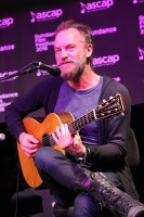 Sting performs live