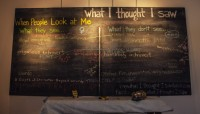 """What I Thought I Saw"" Chalkboard"