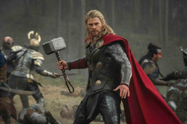 Chris Hemsworth reprises his role as The Mighty Avenger.