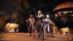 A screenshot from Destiny featuring its three main character classes