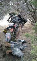 Cadets conduct an LDA movement