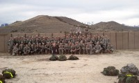 Jandi with all of the cadets