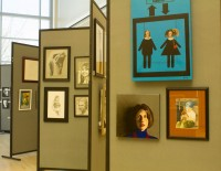 Different mediums entered this years Art Showcase
