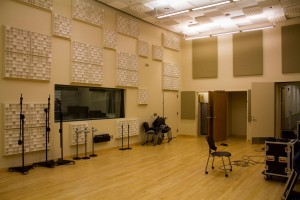 State of the Art Recording studio in the New Media Center