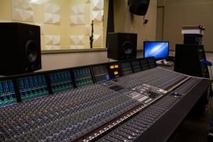 The Sound Board fo the Recording Studio.