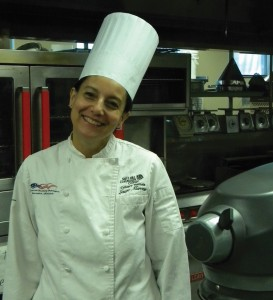 Chef Laura Marone teaches baking and pastry arts for the Culinary Institute at Miller Campus.
