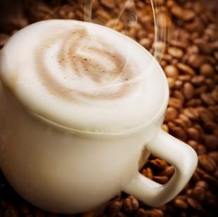Foamy coffee