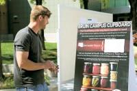 Justin Hughes and Bruin Campus Cupboard