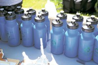 Recyclable water bottles