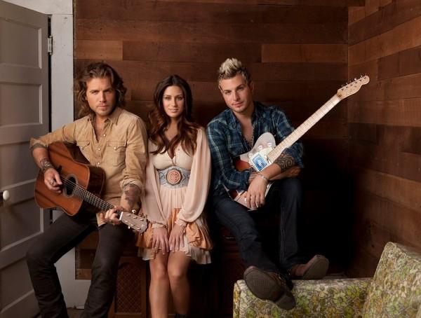 Gloriana band photo