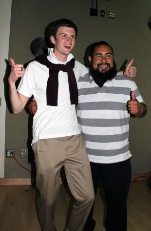 Connor Holt, left, and Arturo Salazar