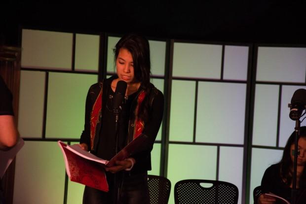 Juliet DeVette as Katniss Everdeen