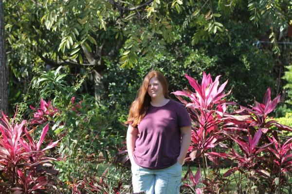 Jennifer Campbell in Costa Rica.
