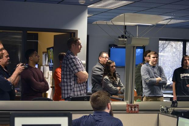 SLCC students see a TV studio
