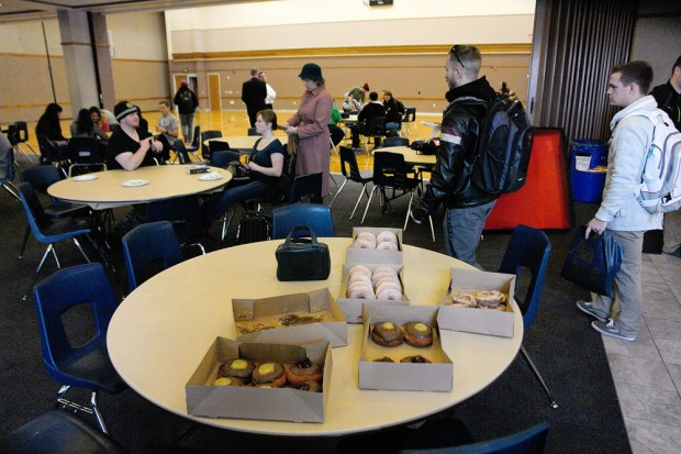 Free Donuts at Institute
