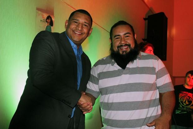 Carlos Moreno, left, and Arturo Salazar