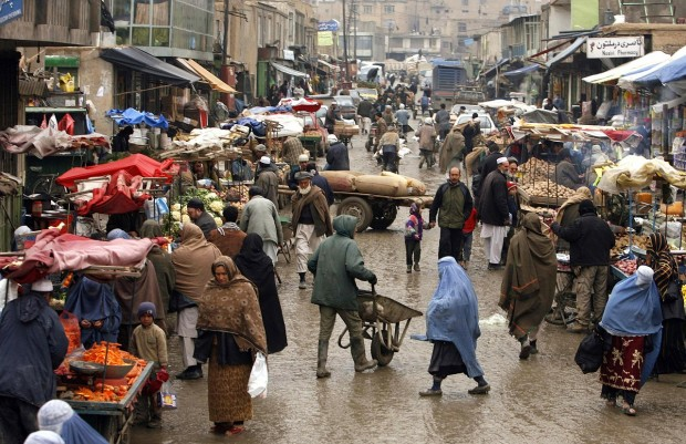 Marketplace in Afghanistan