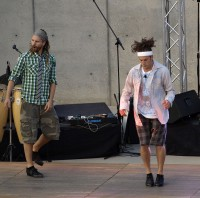 Nick (left) and Ricci from Rhythmic Circus