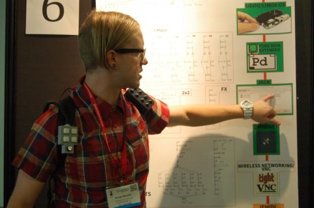 Ryan Moody explains the inner workings of his wearable MIDI sensors.