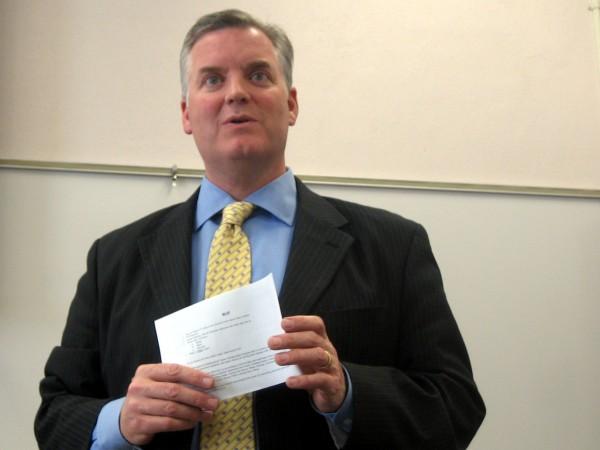 Salt Lake County Mayor Peter Corroon