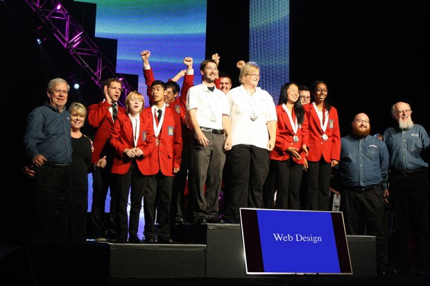 Andrew Wernick and Betsy Hijazi win SkillsUSA gold medal in web design