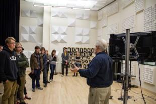Recording studio demonstration