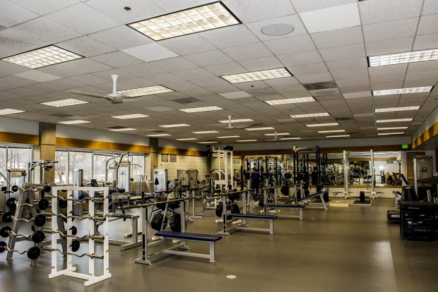 Inside the LAC exercise room